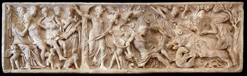 0302 TRE SARCOFAGI ROMANI - dopo il restauro