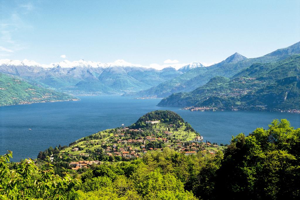 Bellagio promontorio